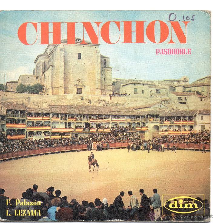 PASODOBLES / CHINCHÓN /EL BORMUJANO / SINGLE 1970 (Música - Discos - Singles Vinilo - Clásica, Ópera, Zarzuela y Marchas)