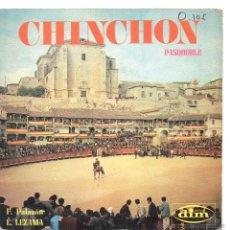 Discos de vinilo: PASODOBLES / CHINCHÓN /EL BORMUJANO / SINGLE 1970. Lote 47556692