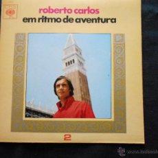 Discos de vinilo: ROBERTO CARLOS // EN RITMO DE AVENTURA // LEER DESCRIPCION. Lote 47557912