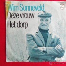 Discos de vinilo: WIM SONNEVELD - HET DORP. Lote 47557947