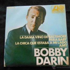 Discos de vinilo: BOBBY DARIN // LA DAMA VINO DE BALTIMORE + 3. Lote 47558194