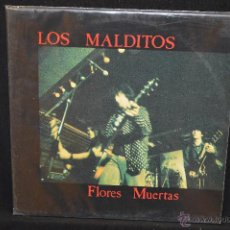 Discos de vinilo: LOS MALDITOS - FLORES MUERTAS - LP. Lote 47558279