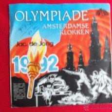 Discos de vinilo: JAC DE JONG - OLYMPIADE. Lote 47558718