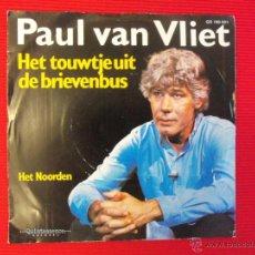 Discos de vinilo: PAUL VAN VLIET - HET TOUWTJE UIT DE BRIEVENBUS. Lote 47559452