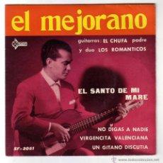 Discos de vinilo: EL MEJORANO.EP.SAEF.AÑO 1961. Lote 47560260