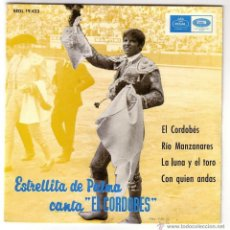 Discos de vinilo: ESTRELLITA DE PALMA CANTA EL CORDOBÉS.EP.REGAL-EMI.AÑO 1965. Lote 47560558