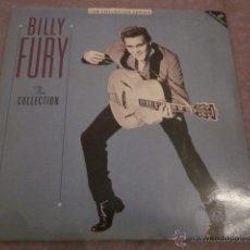 Discos de vinilo: BILLY FURY - THE COLLECTION - LP DOBLE - MADE IN ENGLAND IN 1987.. Lote 47563737