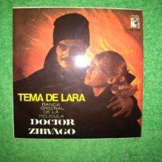 Discos de vinilo: DOCTOR ZIVAGO, SINGEL. Lote 47567878