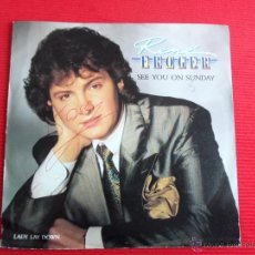 Discos de vinilo: RENÉ FROGER - SEE YOU ON SUNDAY. Lote 47568311