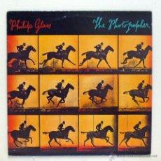 Discos de vinilo: PHILIP GLASS - 'THE PHOTOGRAPHER' (LP VINILO. ENCARTE). Lote 47569408