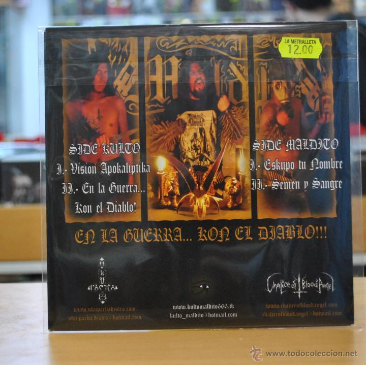 Kulto maldito - en la guerra kon el diablo - si - Sold through