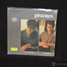 Discos de vinilo: PISTONES - EL PISTOLERO +1 - SINGLE. Lote 47576380