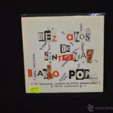 Discos de vinilo: DIEZ AÑOS DE SINTONIAS DIARIO POP - PEDRO ALMODOVAR, ENEMIGOS - SINGLE. Lote 47576673