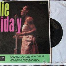 Discos de vinilo: BILLIE HOLIDAY - BILLIE HOLIDAY - EP AÑO 1965. Lote 47578324