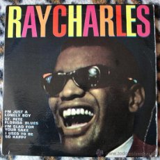 Discos de vinilo: RAY CHARLES - THE GREAT RAY CHARLES - EP 1965. Lote 47578588