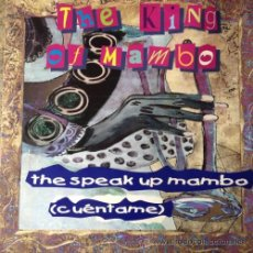 Discos de vinilo: THE KING OF MAMBO - THE SPEAK UP MAMBO . MAXI SINGLE . 1996 CODE MUSIC - CO-00012-MX . Lote 47584369
