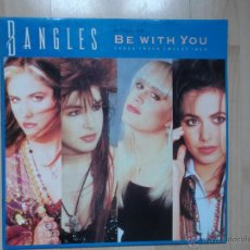 Discos de vinilo: BANGLES BE WITH YOU 1986. Lote 47585253