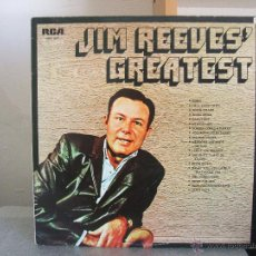 Discos de vinilo: JIM REEVES GREATEST - LP RCA SLP 1017. Lote 47585361