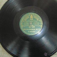Discos de vinilo: DISCO DE FLAMENCO EL MOCHUELO, RARO ETIQUETA VERDE ODEON. Lote 47588262