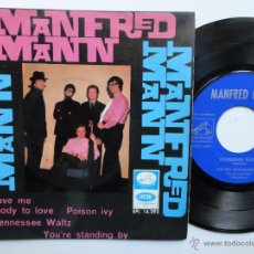 Discos de vinilo: MANFRED MANN- YOU GAVE ME SOMEBODY TO LOVE +3- SPANISH EP- 1966.. Lote 47588303