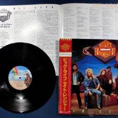Discos de vinilo: LP HEAVY 1987 NIGHT RANGER - BIG LIFE - VINILO JAPONÉS. Lote 47589179