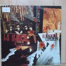 Discos de vinilo: LOS FLOTADORES- HOMBRESTONES - WONKHAI PALMA - LA ORDEN PROMOCIONAL RNE. Lote 47590568