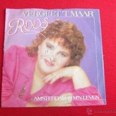Discos de vinilo: ROOS - VERGEET 'T MAAR. Lote 47591310