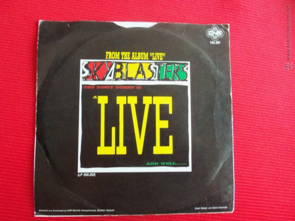 Discos de vinilo: SKYBLASTERS - JOHNNY B GOODE - Foto 2 - 47591574
