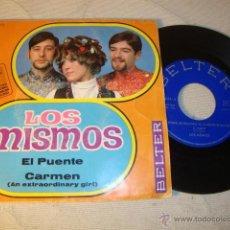 Discos de vinilo: DISCO SINGLE ORIGINAL VINILO GRUPO LOS MISMOS. Lote 47596255