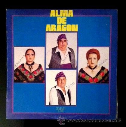 ALMA DE ARAGÓN - 1979 - MARIANO FORNS, MARI CARMEN GUARDIOLA, LINA MILLÁN Y JOSÉ BESCÓS (Música - Discos - LP Vinilo - Otros estilos)