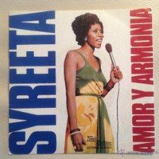 Discos de vinilo: SYREETA - TAMLA MOTOWN ESPAÑA 1975. Lote 47598039