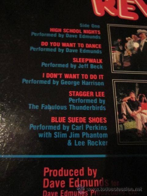 Discos de vinilo: PORKY'S REVENGE - B.S.O. - LP - DAVE EDMUNDS,JEFF BECK,GEORGE HARRISON,CARL PERKINS,ETC. - Foto 3 - 47602316