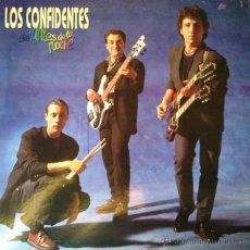 Discos de vinilo: LOS CONFIDENTES - AMANTES DE LA NOCHE . LP . 1991 FONOMUSIC - 88.2095. Lote 47607433