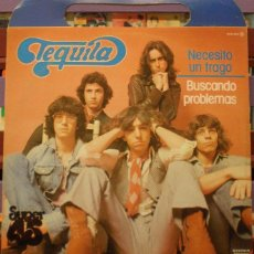 Discos de vinilo: TEQUILA - NECESITO UN TRAGO - BUSCANDO PROBLEMAS. Lote 128878878