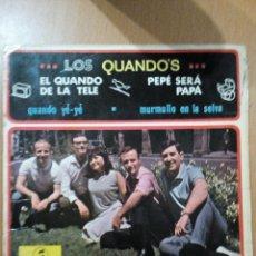 Discos de vinilo: LOS QUANDOS EL QUANDO DE LA TELE - EP. Lote 47615622