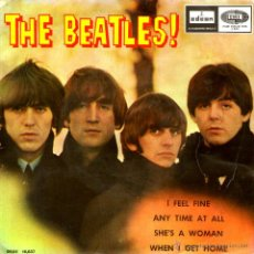 Discos de vinilo: THE BEATLES - I FEEL FINE. Lote 47616946