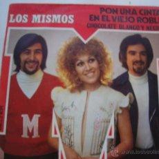 Discos de vinilo: SOLO CARATULA SIN DISCO SINGLE ORIGINAL VINILO GRUPO LOS MISMOS. Lote 47617206