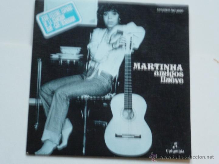 MARTINHA,AMIGOS FESTIVAL DE BENIDOR DEL 76 PROMO (Música - Discos - Singles Vinilo - Otros Festivales de la Canción)