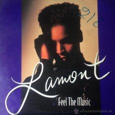 Discos de vinilo: LAMONT - FEEL THE MUSIC . MAXI SINGLE . 1994 DANCE POOL GERMANY - DAN 660584 6 . Lote 47619589