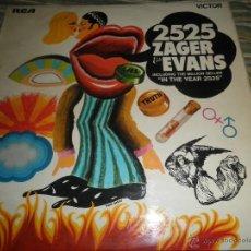 Discos de vinilo: ZAGER & EVANS - ZAGER & EVANS LP - ORIGINAL INGLES - RCA VICTOR RECORDS 1969 - STEREO -. Lote 47620916