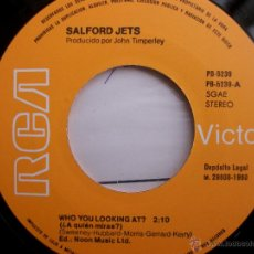 Discos de vinilo: EP SALFORD JETS WHO YOU LOOKING AT ? / DON'T START TROUBLE - PUNK RCA 1980. Lote 46580050