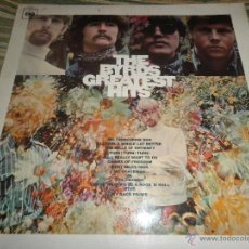 Discos de vinilo: THE BYRDS - GRATESTS HITS LP - ORIGINAL INGLES - CBS RECORDS 1967 - STEREO (ORANGE LABEL). Lote 47621145
