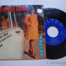Discos de vinilo: DISCO SINGLE ORIGINAL VINILO EP ARGENTINA CORAL : SALUD, DINERO Y AMOR. EP 1968 BELTER. Lote 47623926