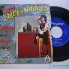 Discos de vinilo: DISCO SINGLE ORIGINAL VINILO EP TANGOS POR JACKY NOGUEZ CON SU ORQUESTA Y COROS - LA CUMPARSITA + 3. Lote 47623989
