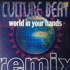 Discos de vinilo: CULTURE BEAT - WORLD IN YOUR HANDS (REMIX) . MAXI SINGLE . 1994 DANCE POOL GERMANY - DAN 660220 8 . Lote 47624296