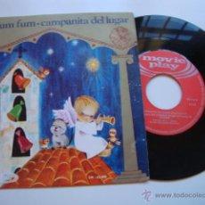 Discos de vinilo: DISCO SINGLE ORIGINAL VINILO VILLANCICO FUM FUM FUM. Lote 47625193