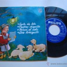 Discos de vinilo: DISCO SINGLE ORIGINAL VINILO EP VILLANCICO CANTA RIE BEBE. Lote 104547788