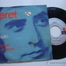 Discos de vinilo: DISCO SINGLE ORIGINAL VINILO PERET. Lote 47625891