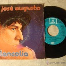 Discos de vinilo: DISCO SINGLE ORIGINAL VINILO JOSE AUGUSTO. Lote 47627662