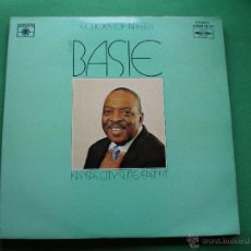 Discos de vinilo: COUNT BASIE KANSAS CITY SUITE /EASIN IT DOBLE LP 1977 ECHOES OF AND ERA LABEL ROULETTE PDELUXE. Lote 47627725